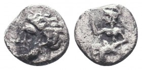 Cilicia, Satraps, AR Obol, 4th century BC    Condition: Very Fine  Weight: 0.60 gr Diameter: 8 mm