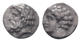 Cilicia, Satraps, AR Obol, 4th century BC    Condition: Very Fine  Weight: 0.30 gr Diameter: 7 mm