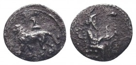 Cilicia, Satraps, AR Obol, 4th century BC    Condition: Very Fine  Weight: 0.60 gr Diameter: 10 mm