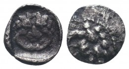 SAMARIA. Circa 375-333 BC. AR Obol  Condition: Very Fine  Weight: 0.30 gr Diameter: 7 mm