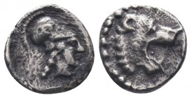 Pamphylia, Side; 4th Century BC, Obol,  Condition: Very Fine  Weight: 0.60 gr Diameter: 9 mm