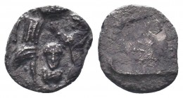 CILICIA, Uncertain. Circa 400-350 BC. AR Obol, Very interesting , Probably unpublished!  Condition: Very Fine  Weight: 0.30 gr Diameter: 8 mm