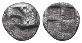 Aeolis, Kyme (c. 480-450 BC), AR Obol,  Condition: Very Fine  Weight: 0.30 gr Diameter: 8 mm