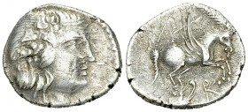 Corcyra AR Drachm, 229-48 BC 