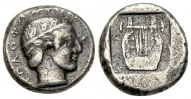Kolophon AR Drachm, c. 450-410 BC 