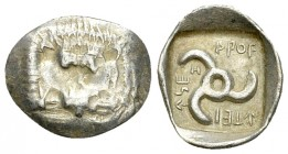 Mithrapata AR Obol, c. 390-370 BC 
