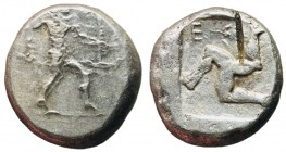 Pamphylia, Aspendos, 465 - 430 BC, Silver Stater, Part of Athenia Tetradrachm Hoard