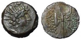 Seleukid Kings, Antiochos VI, 281 - 261 BC, Denomination B with Filleted Thunderbolt