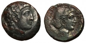 Thessaly, Phalanna, mid 4th Century BC, AE Trichalkon, ex BCD Collection