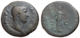 Hadrian, 117 - 138 AD, As with Salus