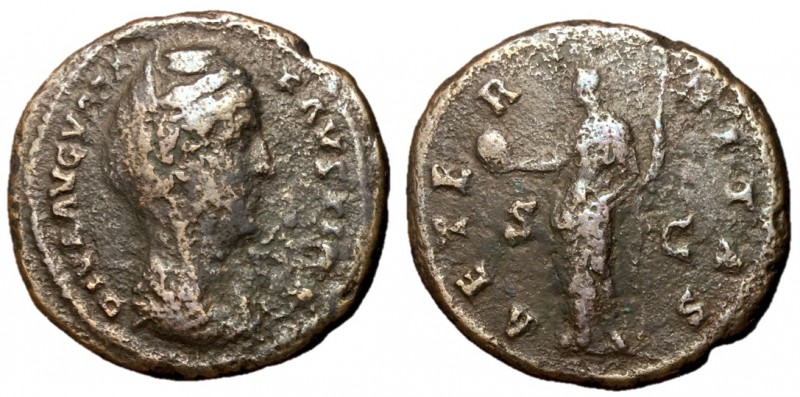 Diva Faustina I, Issue by Antoninus Pius, after 141 AD