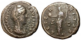 Diva Faustina I, after 141 AD, As with Providentia, Scarce