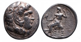 Kings of Macedonia, in the name of Alexander III the Great, 336-323 BC, posthumous issue, struck under Seleukos I Nikator, Ekbatana Mint, ca. 311-295 ...
