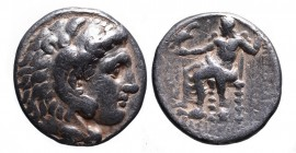 Kings of Macedonia, in the name of Alexander III the Great, 336-323 BC, posthumous issue, Uncertain Mint (Babylon ?), post 323 BC. Head of Herakles we...
