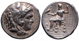 Kings of Macedonia, in the name of Alexander III the Great, 336-323 BC, posthumous issue struck under Seleukos I Nikator, Babylon Mint, ca. 311-300 BC...