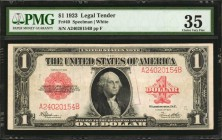Fr. 40. 1923 $1 Legal Tender Note. PMG Choice Very Fine 35.