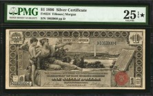 Fr. 224. 1896 $1 Silver Certificate. PMG Very Fine 25 EPQ *.
