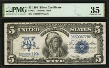Fr. 273. 1899 $5 Silver Certificate. PMG Choice Very Fine 35.