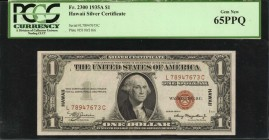 Fr. 2300. 1935A $1 Hawaii Emergency Note. PCGS Currency Gem New 65 PPQ.