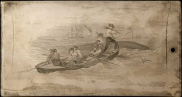 Bustling Whaling Vignette