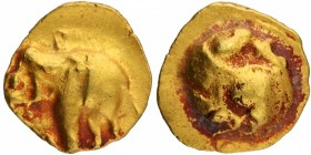 Gold Fanam Coin of Western Ganga Dynasty.