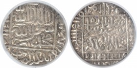 Silver One Rupee Coin of Sher Shah of Gwaliar Mint of Suri Dynasty of Delhi Sultanate.