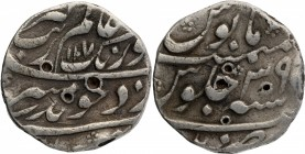 Silver One Rupee Coin of Aurangzeb of Patna Mint.