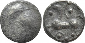 "CENTRAL EUROPE. Boii. Obol (2nd century BC). ""Roseldorf II"" type."