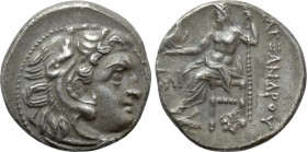 KINGS OF MACEDON. Alexander III 'the Great' (336-323 BC). Drachm. Colophon.
