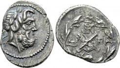 ACHAIA. Achaian League. Patrai. Hemidrachm (2nd century).