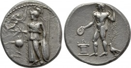 PAMPHYLIA. Side. Stater (Circa 380-360 BC).