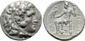 SELEUKID KINGDOM. Seleukos I Nikator (312-281 BC). Tetradrachm. Antigoneia or Seleukeia Pieria. Struck in the name and types of Alexander III of Maced...