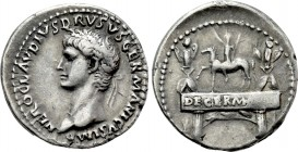 NERO CLAUDIUS DRUSUS (Died 9 BC). Denarius. Rome. Struck under Claudius (41-54).