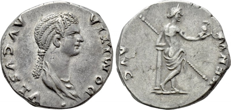 DOMITIA (Augusta, 82-96). Cistophorus. Ephesus (or Rome for circulation in Asia ...