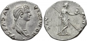 DOMITIA (Augusta, 82-96). Cistophorus. Ephesus (or Rome for circulation in Asia Minor).
