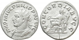 PHILIP I THE ARAB (244–249). Antoninianus. Antioch.