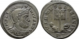 LICINIUS I (308-324). Follis. Ticinum.