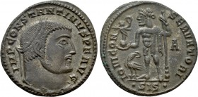 CONSTANTINE I THE GREAT (307/10-337). Follis. Siscia.