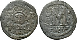 JUSTINUS II (565-578). Follis. Antioch. Dated RY 1 (565/6).