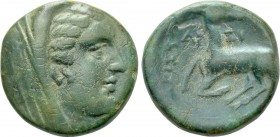 IONIA. Ephesos (as Arsinoeia). Ae (Circa 290-281 BC). Aristai[...], magistrate.