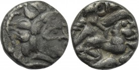 WESTERN EUROPE. North West Gaul. Namnetes (2nd-1st centuries BC). BI 1/4 Stater.