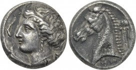 SICILY. Entella. Tetradrachm (Circa 320/15-300 BC).