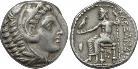 KINGS OF MACEDON. Alexander III 'the Great' (336-323 BC). Tetradrachm. Amphipolis.