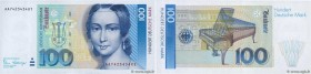 Country : GERMAN FEDERAL REPUBLIC  Face Value : 100 Deutsche Mark  Date : 02 janvier 1989  Period/Province/Bank : Deutsche Bundesbank  Catalogue refer...