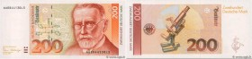 Country : GERMAN FEDERAL REPUBLIC  Face Value : 200 Deutsche Mark  Date : 02 janvier 1989  Period/Province/Bank : Deutsche Bundesbank  Catalogue refer...