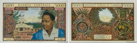 Country : CAMEROON  Face Value : 5000 Francs  Date : (1962)  Period/Province/Bank : B.C.E.A.E.C.  Department : République Fédérale du Cameroun  Catalo...