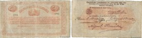 Country : COLOMBIA  Face Value : 50 Pesos  Date : 01 juin 1873  Period/Province/Bank : Banco de Santander  Catalogue reference : P..835b  Alphabet - s...