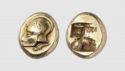 Ionia. Phokaia. 521-478 BC. EL Hekte. (2.59g). Bodenstedt 30; BMFA 1895. Lightly toned. Perfectly centered and struck. Choice extremely fine. From a E...