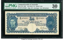 Australia Commonwealth Bank of Australia 5 Pounds ND (1941) Pick 27b R46 PMG Very Fine 30.   HID09801242017  © 2020 Heritage Auctions | All Rights Res...
