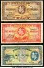 Bermuda Bermuda Government 5; 10 Shillings; 1 Pound 12.5.1937 Pick 8; 9; 10 Three Examples Fine-Very Fine.   HID09801242017  © 2020 Heritage Auctions ...